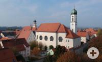 Karmeliter Kloster in der Altstadt in Schongau