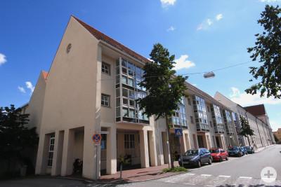 Heiliggeist Spital Stiftung Gebäude Ansicht