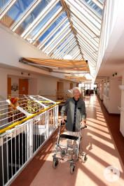 Heiliggeist Spital Stiftung Gebäude Innenansicht