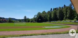 Lechsporthalle Sportplatz
