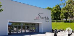 Lechsporthalle Vorderansicht
