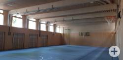 Staufer Grundschule Turnhalle Innenansicht